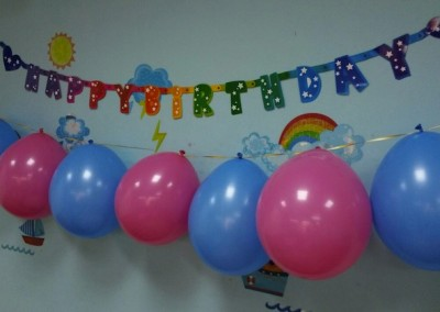 Birthday Party  for Sept/Oct birthday BrainFitters (2014)