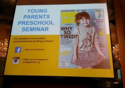 Young Parents Preschool Seminar (Oct 2014)
