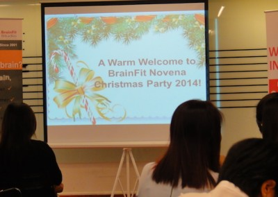 Christmas - Birthday Celebration December 2014